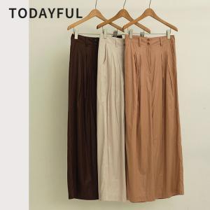 TODAYFUL  LIFE'S  Silktouch Wide Pants 12010712 パンツ ボトム ワイドパンツ|m-i-e