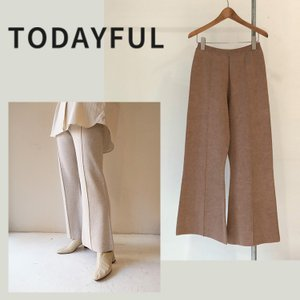 TODAYFUL LIFE'S  Doubleface Knit Pants 12010715 パンツ ニットパンツ|m-i-e