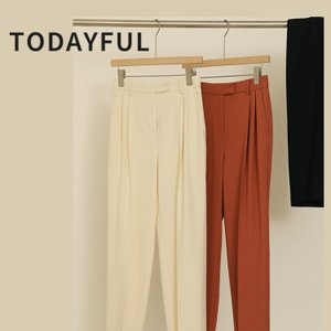 TODAYFUL LIFE'S Tuck Tapered Trousers 12010724|m-i-e