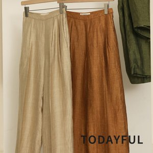 TODAYFUL LIFE's Delave Linen Trousers 12010726|m-i-e