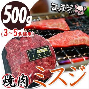 焼肉セット ミスジ みすじ 500g 赤身 霜降り 希少部位...