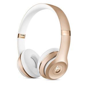 送料無料! Beats by Dr.Dre ワイヤレス ヘッドホン Beats Solo3 Bluetooth対応 オンイヤーリモコン ゴールド MNER2PA/A (国内正規品)|m-onlineshop