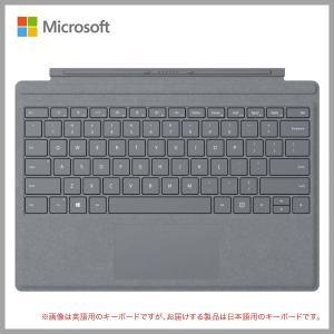送料無料! マイクロソフト Surface Pro Signature タイプカバー プラチナ FFP-00019 日本語キーボード|m-onlineshop