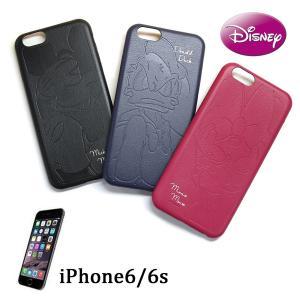 送料無料! ディズニー 「ミッキー ミニー ドナルド」 iPhoneケース 6/6s対応 (合皮ジャケット)|m-onlineshop