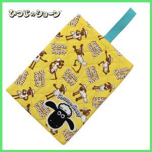 ひつじのショーン シューズケース (刺繍) -シューズバッグ-|m-onlineshop