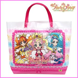 Go! プリンセスプリキュア ビーチバッグ  (角トート プールバッグ)|m-onlineshop