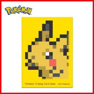 ポケモンカードゲーム デッキシールド スリーブ ピカチュウ ドット Pikachu Pixel (海外版) m-onlineshop