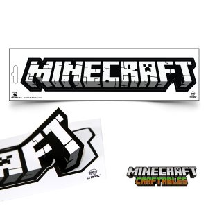 マインクラフト ステッカー ロゴ (正規品)|m-onlineshop