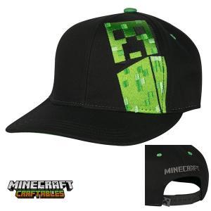 マインクラフト スナップバックキャップ 帽子 クリーパー (正規品)|m-onlineshop