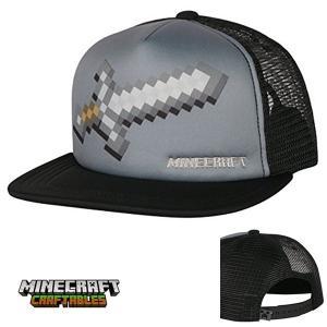 マインクラフト ハーフメッシュキャップ 帽子 アイアンソード (正規品)|m-onlineshop