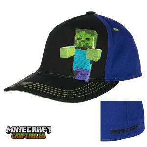 マインクラフト キッズストレッチフィットキャップ 子供用帽子 ゾンビ (正規品)|m-onlineshop