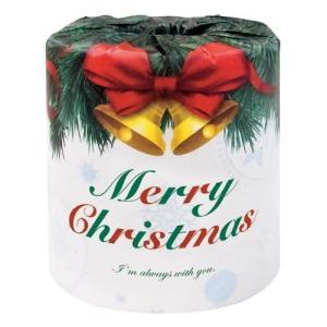 クリスマスプリント トイレットペーパー 1ロール...の商品画像