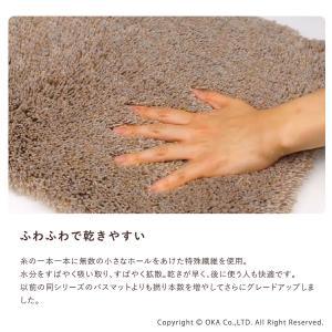 PLYS base(プリスベイス) バスマット epi(エピ) 約35×60cm|m-rug|03
