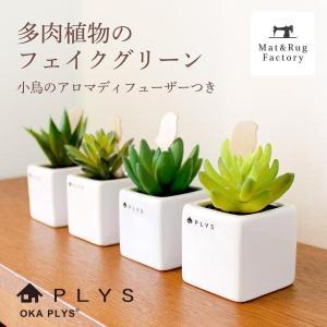 PLYS green(プリスグリーン) プリスグリーン フェイクグリーン 多肉 小さめ 新生活|m-rug