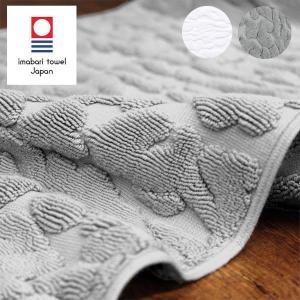 愛媛県今治市の高品質な今治タオルで出来たバスマットです。パンテール(豹)柄を凸凹で表現することで、高...