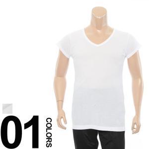 オンオフと活躍してくれるシンプルなデザインのVネックの1分丈アンダーシャツです。吸汗速乾、抗菌、防臭...