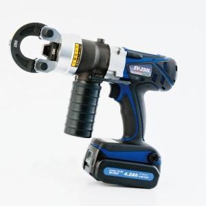 カクタス クリンプボーイ EV−250L  予備電池付セット 4.2Ah仕様|m-tool