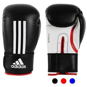 ■製品特長 adidas エナジー100 ボクシンググローブ  耐久性のあるPU素材を使用。 ベルク...