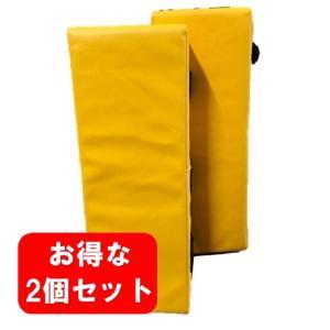 M-WORLD ジュニアキックミット 2個組(日本製) //空手 フルコンタクト キック キックボクシング フィットネス MMA 練習 子供向け キッズ