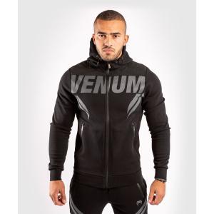 VENUM ジップアップパーカー VENUM×ONE FC IMPACT HOODIE (ブラック×...