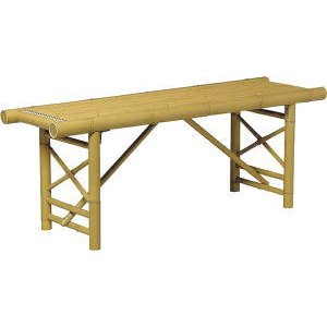 合成竹 縁台 4尺|m1shop