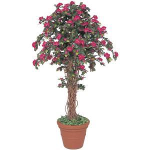 人工植物 リアナ ブーゲンビリア  鉢付 1.8m 室内用 |m1shop