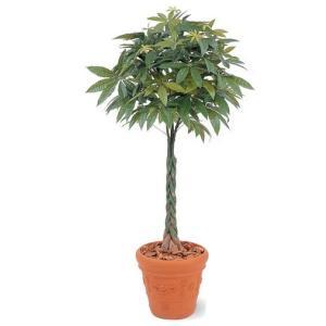 人工植物 パキラ 鉢付 2.1m 室内用 |m1shop