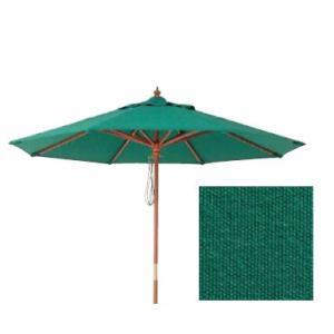 マーケットパラソル グリーン 2.4m|m1shop
