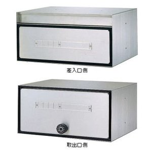 郵便ポスト ハピー金属 コンポス 貫通型集合ポスト 防滴タイプ CP−305|m1shop