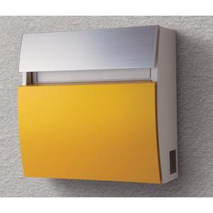 郵便ポスト パナソニック電工 フェイサス ラウンドタイプ 壁掛けタイプ C-2型 パネル:アクリル焼付塗装(ダンディライアン)CTCR2203Y|m1shop