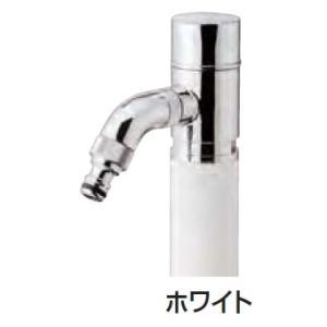 散水専用水栓柱 スプリンクル3D ホワイト|m1shop