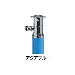 散水専用水栓柱 スプリンクル アクアブルー|m1shop