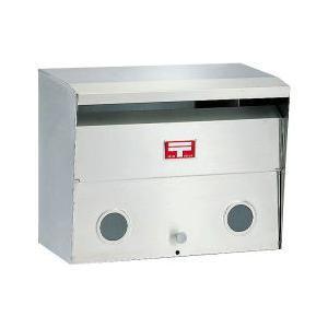 郵便ポスト ハッピー金属 603 ヘアーライン 前入れ前出し 外掛専用タイプ m1shop