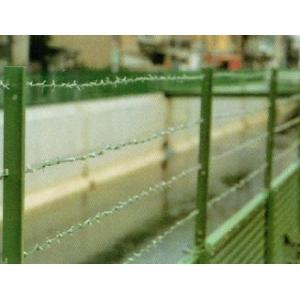 取付しのび BP-AL型 亜鉛メッキ H600 有刺鉄線4段用 20セット m1shop