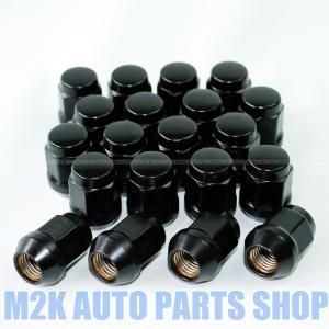 ホイールナット ブラックナット P1.5 19HEX 20個 袋ナット M12 国産車 普通車 ステップワゴン オデッセイ m2k