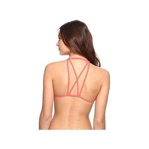 ビラボン Sol Searcher Strappy Triangle Bikini Top レディース 水着  Horizon Red