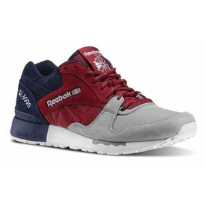 White Reebok Classic GL 6000 HM Mens Trainers Shoes