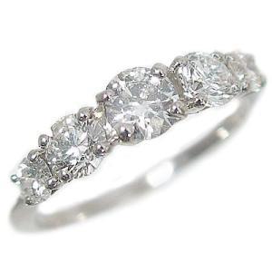 キズの目立たない照りのあるダイヤモンドを厳選 婚約指輪 結婚記念日の贈り物におすすめ  材質:プラチ...