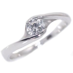 鑑定書付 プラチナ ダイヤモンド 婚約指輪 エンゲージリング ダイヤ 0.3ct D-VS1-EX H&C 指輪 PT900|ma38