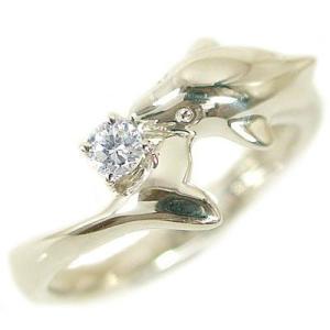 ダイヤモンド リング イエローゴールドk10 ドルフィンリング 天然ダイヤモンド 0.1ct K10 ma38