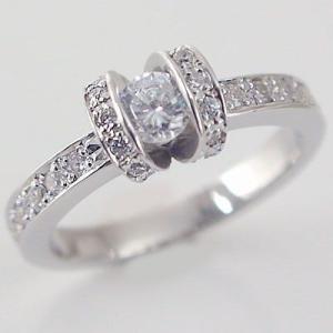 鑑定書付 ダイヤモンド プラチナ 婚約指輪 エンゲージリング ダイヤ 0.3ct D-VS1-EX 脇ダイヤ 0.34ct PT900 指輪|ma38