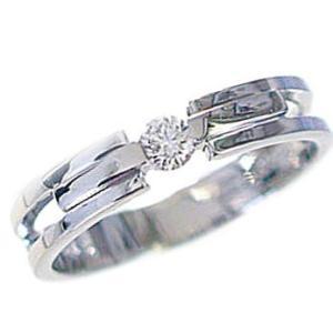 プラチナ ダイヤモンド 婚約指輪 エンゲージリング Pt900 ダイヤ 0.1ct VSクラス ブライダル|ma38