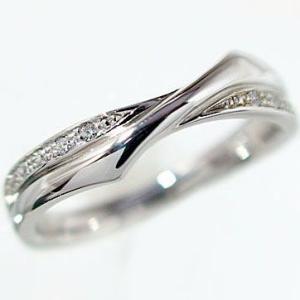 ダイヤモンド プラチナ900 ダイヤリング PT900 指輪 ダイヤ 0.08ct|ma38