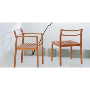 竹集成材の椅子 Tension 肘掛あり TEORI|maaoyama