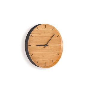 竹集成材の壁掛け時計 ウォールクロック TEORI|maaoyama