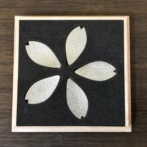 錫製 桜の花びら箸置き ギフト桐箱入り 炭谷三郎商店 博鳳堂|maaoyama