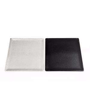 アルミの四角のお皿 スクエアートレーS 9.8cm maaoyama