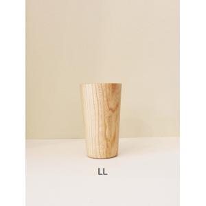 木のグラス KAMI long glass LL 高橋工芸