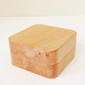 木製のバターケース 45° ハーフ 高橋工芸|maaoyama