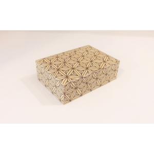 寄木細工 麻の葉模様の小箱|maaoyama